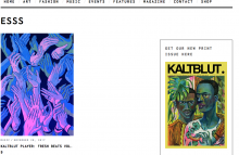 ESSS on Kaltblut Magazine