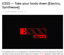 ESSS on MISHKA DJ HYPE MACHINE